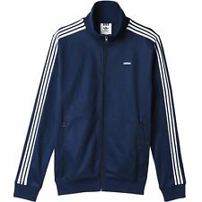 adidas ORIGINALS MEN'S BECKENBAUER OG JACKET NAVY RED CLASSIC CASUALS TRACK TOP
