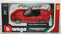 Burago 1/43 Scale Diecast Model - 18-36000 - Ferrari California Conv - Red