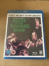 NIGHT OF THE LIVING DEAD (1968) GEORGE A ROMERO BLU-RAY NEW & SEALED Zombies