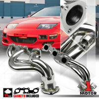 Stainless Steel Exhaust Header Manifold for 90-96 Nissan 300ZX NA Z32 Non-Turbo