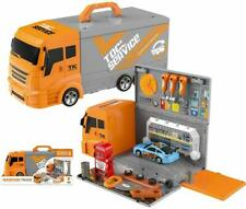 Transport Truck Toy, Car Transporter Truck Carry Vehicle for Boys and Girls