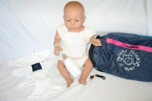 RealCare Baby Think It Over Doll G6 White Female Caucasian Girl Programmed!
