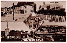 BRADING ISLE OF WIGHT IOW UK MULTI IMAGE PHOTO POSTCARD