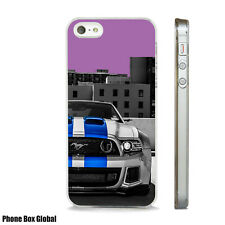 FORD MUSTANG CAR FAN ART PHONE CASE FITS APPLE IPHONE 4 5 6 7 8 SE PLUS & X