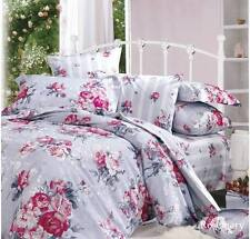 Luxury Grand Atelier Rosemary Cotton Viscose KING Size Quilt Doona Cover Set