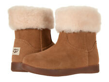 Toddler UGG Australia Jorie II 1097034T Chestnut Suede 100% Authentic Brand New
