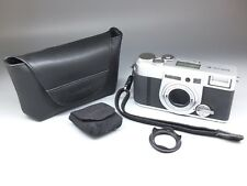 Fujifilm Klasse W 35mm Point & Shoot Film Camera Sliver w/ Fuji 28mm f2.8 Lens
