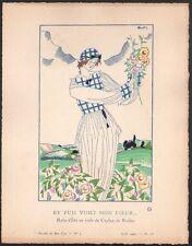 Charles Martin. Gazette du bon ton. 1920 - planche 18