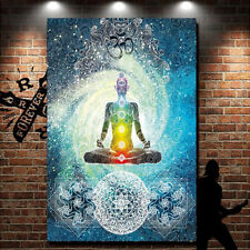Indian Decor Mandala Yoga Zen Wall Meditation Batik Hippie Om Sign Tapestry