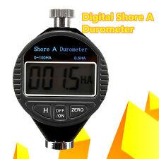 0~100HA Digital Shore A Hardness Durometer Tester Tire Rubber LCD Display Meter