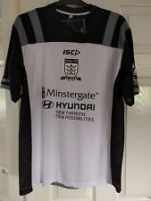 HULL FC BLACK WHITE RUGBY 150 YEARS TRAINING T-SHIRT TOP SIZE 2XL XXL BRAND NEW
