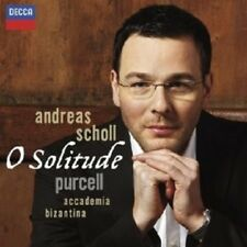 "ANDREAS SCHOLL ""OH SOLITUDE"" CD NEW+"
