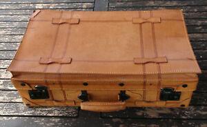 Reisekoffer | Lederkoffer | Koffer | Suitcase [Oldtimer Urlaub Reisen Insel]