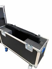 "Ata Case Single 60"" Flat screen Tv Lcd Led Plasma Heavy Duty Case w/ 4"" Wheels"