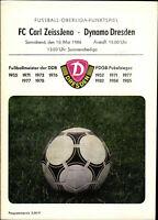 OL 85/86 SG Dynamo Dresden - FC Carl Zeiss Jena, 10.05.1986