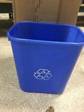Box Of 12 Highmark Recycling Bin, 3.25 Gallons 13 Quart  Blue