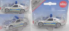 Siku Super 1528 Porsche 911 Turbo S Autobahnpolizei, weißalu, POLIZEI