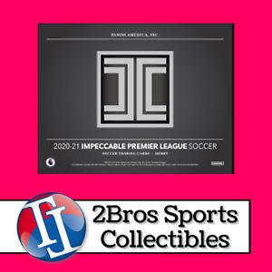 20-21 Impeccable Premier League 3 Box Case Break 5/7 5pm CST - Leicester City