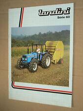 Catalogue Tracteur LANDINI Série 60      1990 brochure traktor tractor trattore