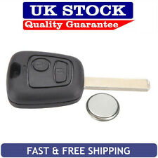 Toyota 2 Button Replacement Remote Key Fob Case Service Kit Fits Aygo + Battery