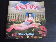 Katy Perry - One of the Boys: 2008 Virgin/Capitol Enhanced CD album (Pop Rock)