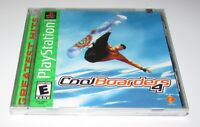 Cool Boarders 4 for Playstation PS1 Brand New! Fast Shipping!