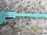 Lot Natural Clear Quartz Crystal Points 1Lb Terminated Wand Healing