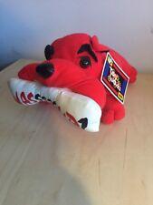 Bulldog Stuffed Animal Plush Kids Dog Soft Toy Works Red Wasssssup? Bone