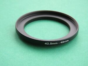 40.5mm-49mm Stepping Step Up Male-Female Filter Ring Adapter 40.5mm-49mm