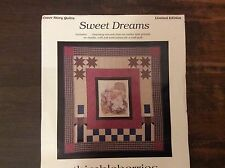 "WALL QUILT PATTERN ""SWEET DREAMS""   Includes CENTRE DESIGN PRINTED ON MUSLIN"