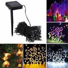 LED Solar Powered Fairy String Lights Garden Outdoor Xmas Home Party Decor Lamp