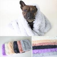 Pet Blanket Cushion Dog Cat Warm Mat Soft Plush Pad Nest For House Winter Warm