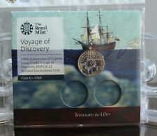 2019 Royal Mint Captain Cook £2 Two Pound Brilliant Uncirculated BU Coin Pack