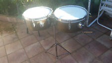 Leedy timbales 13 & 14 with case