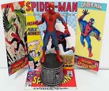 Amazing SPIDER-MAN Comic Book Avenger Superhero ACTION FIGURE on Custom DIORAMA
