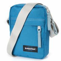 Petit sac à bandoulière EASTPAK THE ONE côté bleu bleu 2,5 litres imperméabilisé