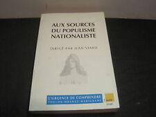 Jean VIARD (Directeur) Aux sources du populisme nationaliste