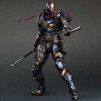 Play Arts KAI DC Comics Batman: Arkham Origins Deathstroke PVC Action Figure