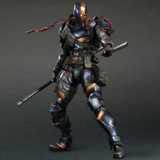 Play Arts Kai DC Comics Batman: Arkham Origins Deathstroke Figura De Acción De Pvc