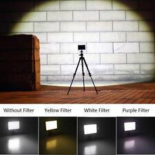 160 LED Licht Videoleuchte HD-160 it Filter und Blitzschuh für Digitalkamera