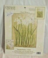Candamar Designs Narcissus 51343 Stamped Cross Stitch Kit by Cheri Blum New Open