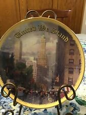 """""""�New York, Central Park South At Sixth Avenue """" Bradford Exchange Plate Kincade"""