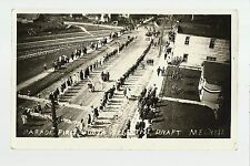 Melrose MINNESOTA RP 1918 DRAFT U.S. ARMY PARADE WW1 Women Marching nr St. Cloud