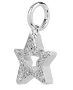 Monica Vinader Star Diamond Pendant Charm -  Sterling Silver version RRP £150