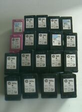HP 301 Empty Ink Cartridges 17 Black & 2 Colour All Original