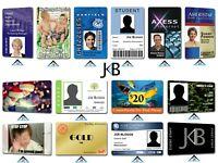 Personalised Printed Business Student Membership Pass Plastic PVC ID Cards Badge