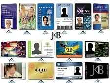 More details for personalised printed business student membership pass plastic pvc id cards badge