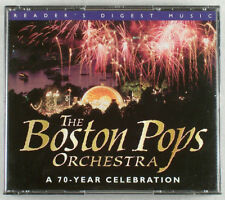 READER'S DIGEST MUSIC THE BOSTON POPS ORCHESTRA 4 CD