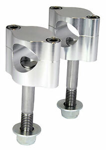 Handlebar Mounting Kit 28.6mm Aluminium CNC Handle Bars Clamp Clamps