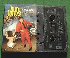 Tom Jones If I Only Knew (2 Versions) / I'm Ready Cassette Tape Single - TESTED